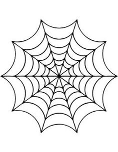 spider web template | WobiSobi: Hot Glue Spiderweb, DIY