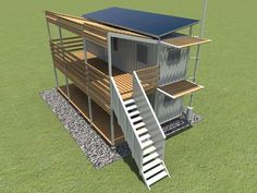 Solar and wind power supplies in mind1 this would make an awesome survival spot/using storage containers?