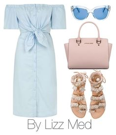 """Great"" by lizz-med ❤ liked on Polyvore featuring Topshop, Elina Linardaki, Michael Kors and Kate Spade"