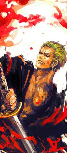 One Piece - Roronoa Zoro. My fav character in One Piece! Whyt Manga, Manga Comics, Manga Girl, Sanji One Piece, Anime One Piece, Roronoa Zoro, Fan Art, Mugiwara No Luffy, The Pirate King