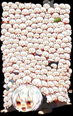 Cub Raising Association - Chapter Wrapped around his waist was. Kawaii Chibi, Anime Chibi, Kawaii Anime, Anime Art, Manga Cute, Cute Anime Boy, Anime Guys, Vocaloid, Yandere