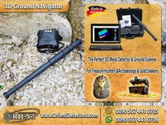 3D Ground Navigator   Latest German Technology in Metal & Gold Detection 2017 The perfect 3d metal detector and ground scanner from OKM's famous future series, for all needs of treasure hunters , archaeologists and gold seekers  #3d_ground_navigator #gold_detectors #Turkey #Iran #Bulgaria #Greece #Russia #USA #UK #India #Spain #Columbia #Portugal #Philippines #Mexico #Argentina #Chile #Serbia  To read full details about the device visit this link…