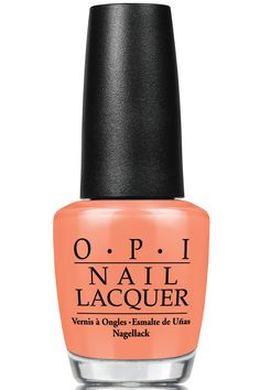 O.P.I. Hawaii Collection Nail Lacquer in Is Mai Tai Crooked?, $9.50, ulta.com.   - TownandCountryMag.com