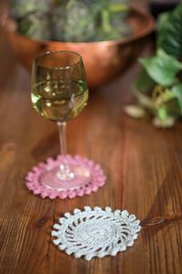 Vintage Linen Coasters easy and free