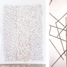 """""""No. 1"""" (detalle), 2014, Serie: Sin Título, metal soldado, Dimensiones variables, 260 x 170 cm."""