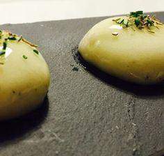 esferas de patata Tapenade, Tapas, Chefs, Cantaloupe, Fruit, Caviar, Recipes, Food, Gastronomia