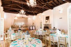 Krista + Mike's Florida Wedding at Woman's Club of Coconut Grove | art C images photography Reception Ideas, Wedding Reception, Wedding Day, Blue Wedding, Wedding Colors, Cruise Miami, Wedding Checklist Printable, Coconut Grove, Wedding Decorations