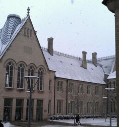 Benefactor's Court - Submitted by Gregory Daines, NTU student Nottingham Trent University, Louvre, Student, City, Building, Winter, Travel, Winter Time, Viajes