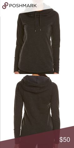 Lucy workout pullover size S Lucy dance workout pullover new with tags. Cowl neck hoodie!! Lucy Sweaters Cowl & Turtlenecks