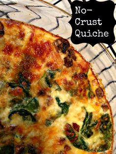 No-Crust Quiche