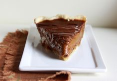 chocolate-pumpkin pie.