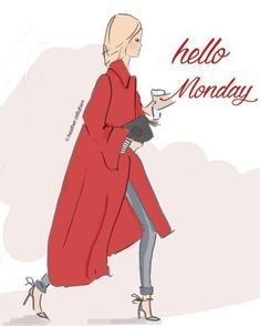 Positive Quotes For Women : Hello Monday