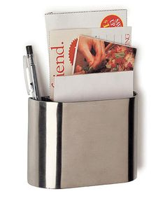 Loving this Stainless Steel Magnetic Pocket on #zulily! #zulilyfinds