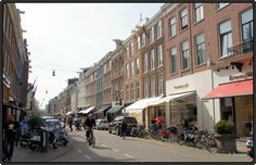 One of the most expensive shopping streets in the Netherlands: P.C Hooftstraat, Amsterdam, Netherlands http://etb.ht/162bmdw  by Tom Wolbrink
