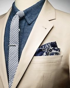 Dressy denim.  #men #fashion Linxspiration