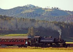 All aboard! Sit back and enjoy the views as the 1880 Train winds its way through the Black Hills and takes you on a tour between Hill City to Keystone.