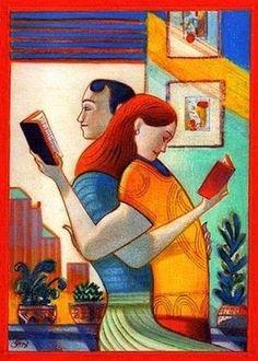 Pinzellades al món: Il·lustrant la lectura / Ilustrando la lectura / Illustrating the reading / Illustrant la lecture / Illustrando la lettura
