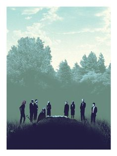 Six Feet Under print by Mark Englert