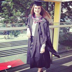Bonnie Wright graduates!