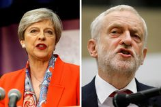 PM Theresa May-led Conservative Party has crossed the 300-mark, extending the lead over the Labour Party. It, however, will fall short of majority in the 650-seat House of Commons. May has gone into a huddle with senior Conservatives.