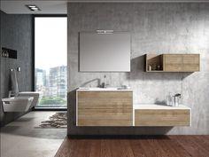 Muebles de baño, estilo y diseño - Banium Condo Bathroom, Bathroom Cabinets, Bathroom Storage, Bathroom Ideas, Modern Vanity, Bath Vanities, New Homes, Interior Design, House