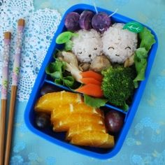 """There's a bug in my bento! But it's a cute """"potato"""" bug..."""