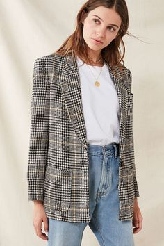 Urban Outfitters Vintage Oversized Blazer - S/M