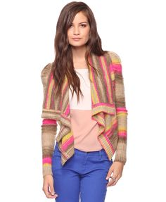 Lots of weird colors. Poufy sleeves. Hmmm. Forever 21, $24.80