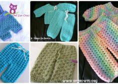 Crochet Baby Pants Free Patterns Instructions