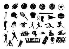 silhouettes sports