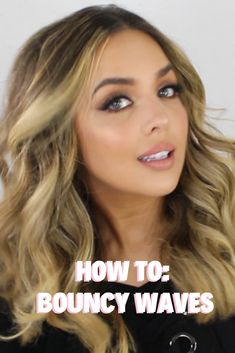 How to get effortless, messy, bouncy waves on clean hair uusing my Amika wand and texture spray