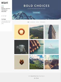 Ridge WordPress Business Portfolio Theme - www.wpchats.com