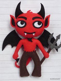Felt devil. Demonio de fieltro