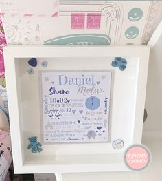 Chloe Thomas, Christening Frames, Great Gifts, Decorative Boxes, Amazing Gifts