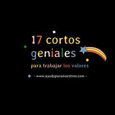 AYUDA PARA MAESTROS: 17 cortos geniales para trabajar los valores Spanish Class, Presentation, Videos, School, Movie Posters, Instagram, Writing Activities, Interactive Activities, Project Management
