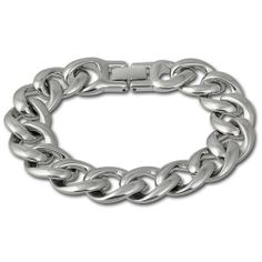 Amello Edelstahl Armband – Panzerarmband für Damen Edelstahlschmuck Stainless Steel ESAX18J0 | Your #1 Source for Jewelry and Accessories