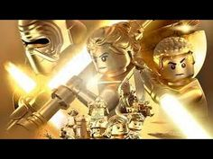 The latest entry into the popular Lego Star Wars gaming franchise, LEGO Star Wars: The Force Awakens, proves that Force may indeed be strong with one. Games On Youtube, Game Streaming, Star Wars Wallpaper, The Empire Strikes Back, Live Wallpapers, Lego Star Wars, Vignettes, Video Game, Princess Zelda