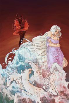 The Last Unicorn (cover) by *DestructorCAT on deviantART