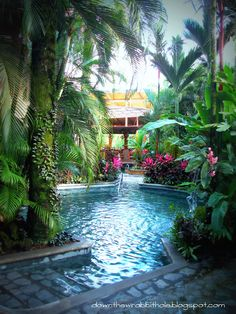 The beautiful Baldi Resort & Spa in La Fortuna, Costa Rica, next to the Arenal Volcano! So amazing! From downthewrabbithole.blogspot.com #travel #bucketlist
