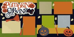 Pumpkin Carving Page Kit
