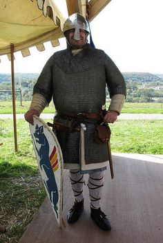 Norman knight circa 1066 by One lucky guy, via Flickr