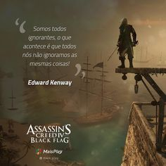 Frases reflexivas de Assassin's Creed IV: Black Flag Assassins Creed Black Flag, Assassins Creed Odyssey, Kratos God Of War, Horror Photography, Nerd, I Ching, Game Quotes, Jiu Jitsu, Thoughts