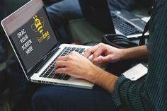 Writing with MacBook Pro free PSD mockup #headphones #macbook #apple #macbookpro #hp #computer #startup #cowork #office #freelance #workspace #business #mobile #men #mockup #HD #smartobjects #