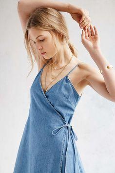Gemma Denim Wrap Dress – Smart Wild Thing #SMARTWILDTHING