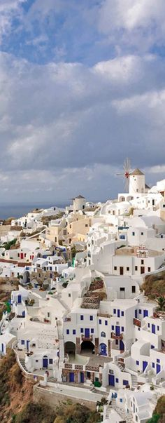 Rock-hewn suites, private Jacuzzis and a candlelit restaurant make up this romantic retreat in Oia. #Greece