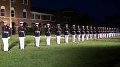 United States Marine Corps Silent Drill Platoon 2013 would love to see them in person.....