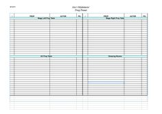 Stage Management Templates - HeadsetChatter.com