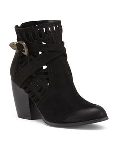 Maze Cut Out Booties