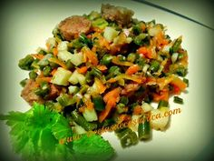 Cocina Costarricense: picadillo de verduritas