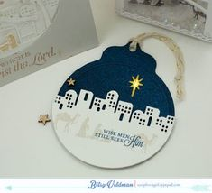 Wise Men Tag by Betsy Veldman for Papertrey Ink (September 2015)